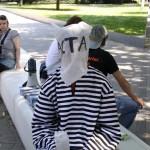 Demonstration der Piraten Düsseldorf gegen ACTA 2010
