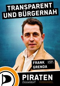 Frank Grenda, Spitzenkandidat