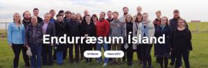 """""""Endurræsum Ísland – Island neu starten"""" – das Motto der isländischen Piraten zur Wahl 2016."""